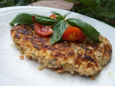 Mediterranean Quinoa Patty