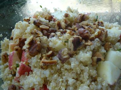 Quinoa Apple Walnut Salad