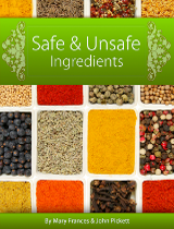 Safe and Unsafe Ingredient List