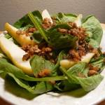 Spinach Tempeh Pear Salad thumbnail