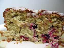 Gluten Free Blueberry Quick Bread